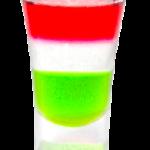 """Рецепт коктейля """"Итальянский флаг"""""""