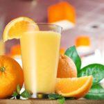 Коктейль Яичное молоко с апельсиновым сиропом