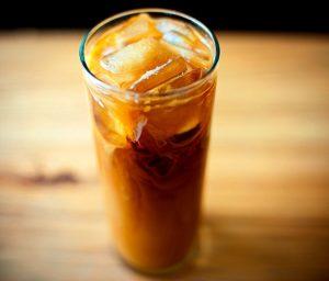 Коктейль кофейно-яблочный