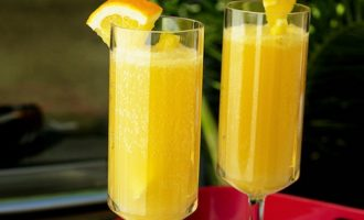 Коктейль Апельсиново-лимонный с медом