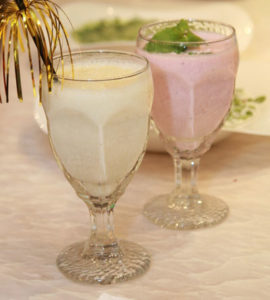 Коктейль из кефира и фруктового сока
