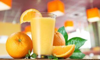 Яичное молоко с апельсиновым сиропом