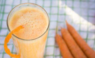 Коктейль с морковным соком