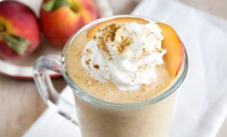 кофейно-персиковый
